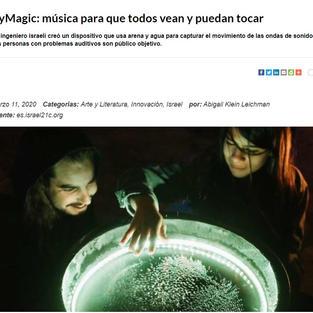 CyMagic: música para que todos vean y puedan tocar