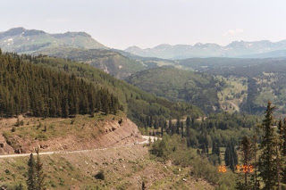 Views from Coal Bank Pass, the first high altitude pass that riders will encounter during the RMCC Colorado Death Ride.