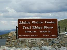 The Alpine Visitor Center in RMNP is a welcome sight after 10,000 feet of climbing!