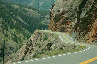 With its steep drops, Red Mountain Pass is one of the most notorious passes in Colorado!