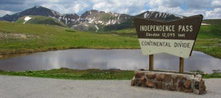 Independence PassEast (elev. 12,095 feet), Hors category, from Twin Lakes