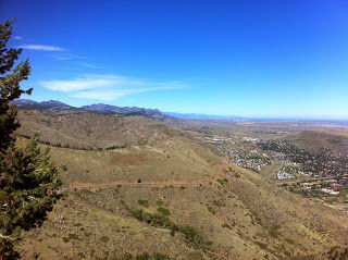 To the west of Golden, CO, Lookout Mountain and Mount Vernon Canyon is the eastern gateway