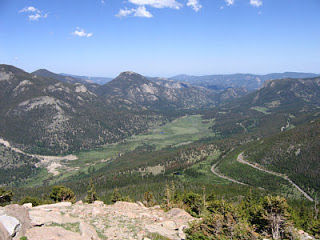 The climb up Trail Ridge Road from Estes Park is never short on scenery,