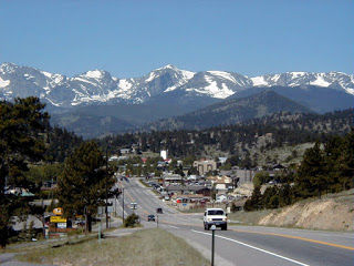 Estes Park, the eastern gateway to Rocky Mountain National Park, is always a popular tourist destination!
