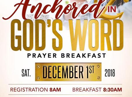 2018 Prayer Breakfast
