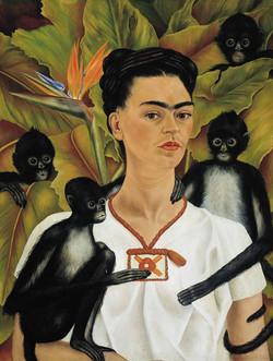 frida-kahlo-autoritratto-scimmie