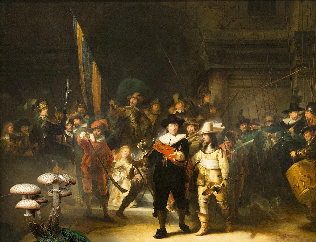 La-Ronda-di-Notte-Rembrandt_funghi_ok-10