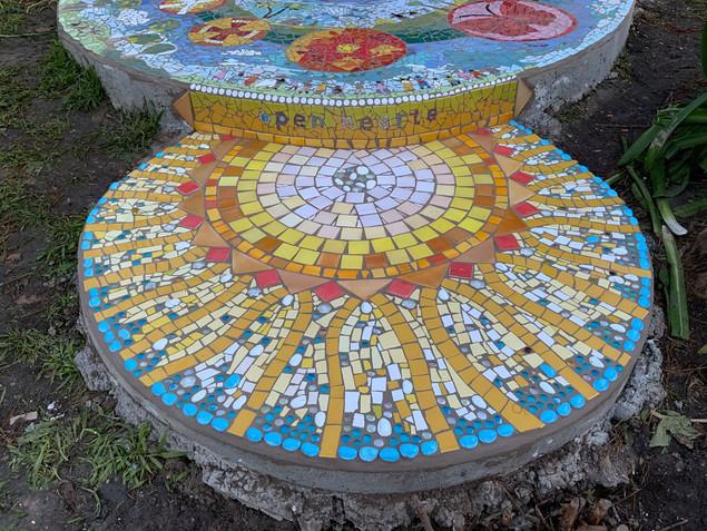 Seville community House mosaic -Sioux Do