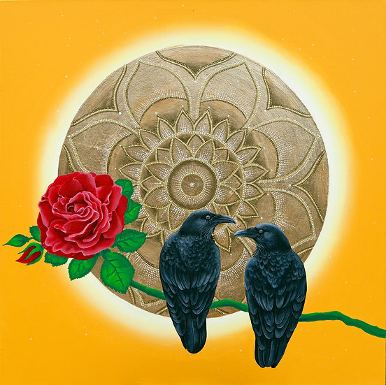 The Sun, the Raven and the Rose
