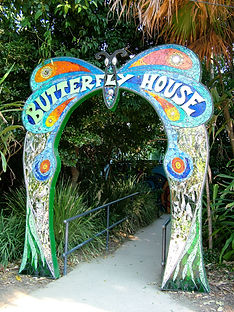 Butterfly arch Melbourne Zoo_Sioux Dollm
