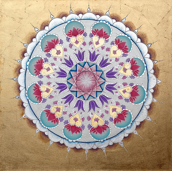 I Love you Mandala