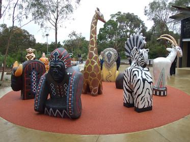 Werribee Zoo Animal Guardian Play Sculpture