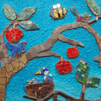 Mosaic Apple tree Gladysdale Primary sxh