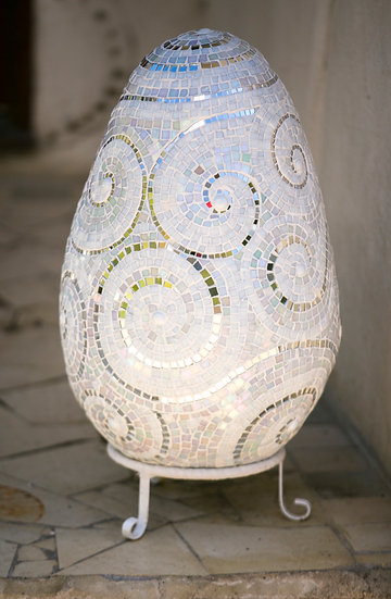 Glass Mosaic Egg
