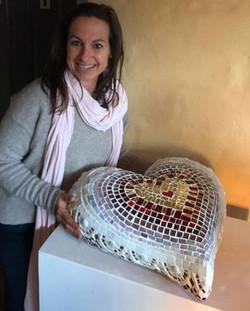 Sioux Mosaic Heart