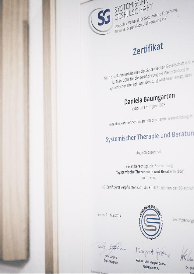 Systemische Therapie & Supervision // Daniela Baumgarten