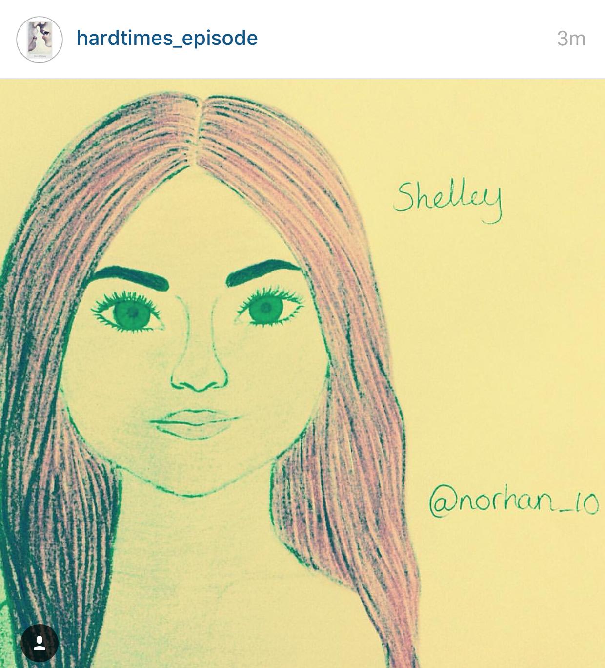 """Shelley"" by @hardtimes_episode"
