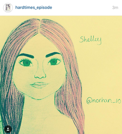"""Shelley"" by @hardtimes_episode"