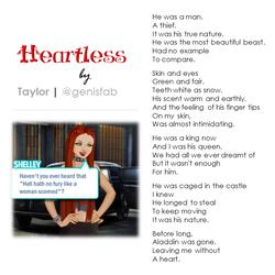 """""""Heartless"""" © 2015"""