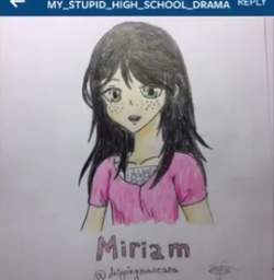 """Miriam"" by @episode.skyler"