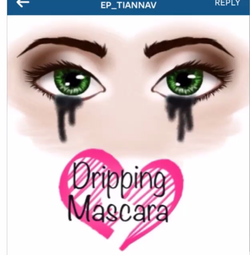 """Dripping Mascara"" by @ep_tiannav"