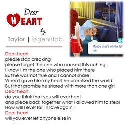 """""""Dear Heart"""" © 2015"""