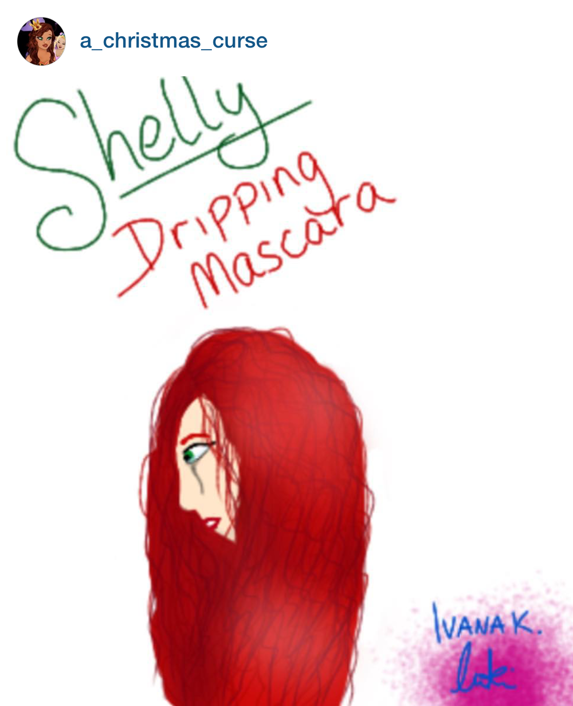 """""""Shelley"""" by @a_christmas_curse"""