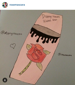 """Rose Mascara"" by @rosemascara"