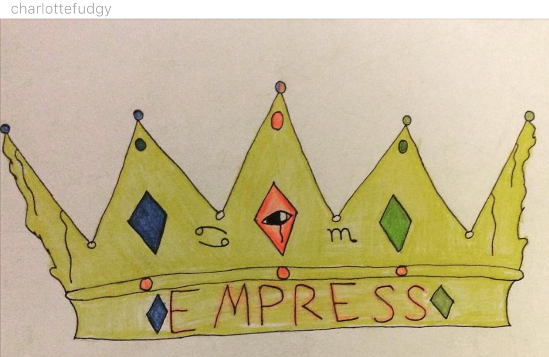"""""""#EMPRESS"""" by @charlottefudgy"""
