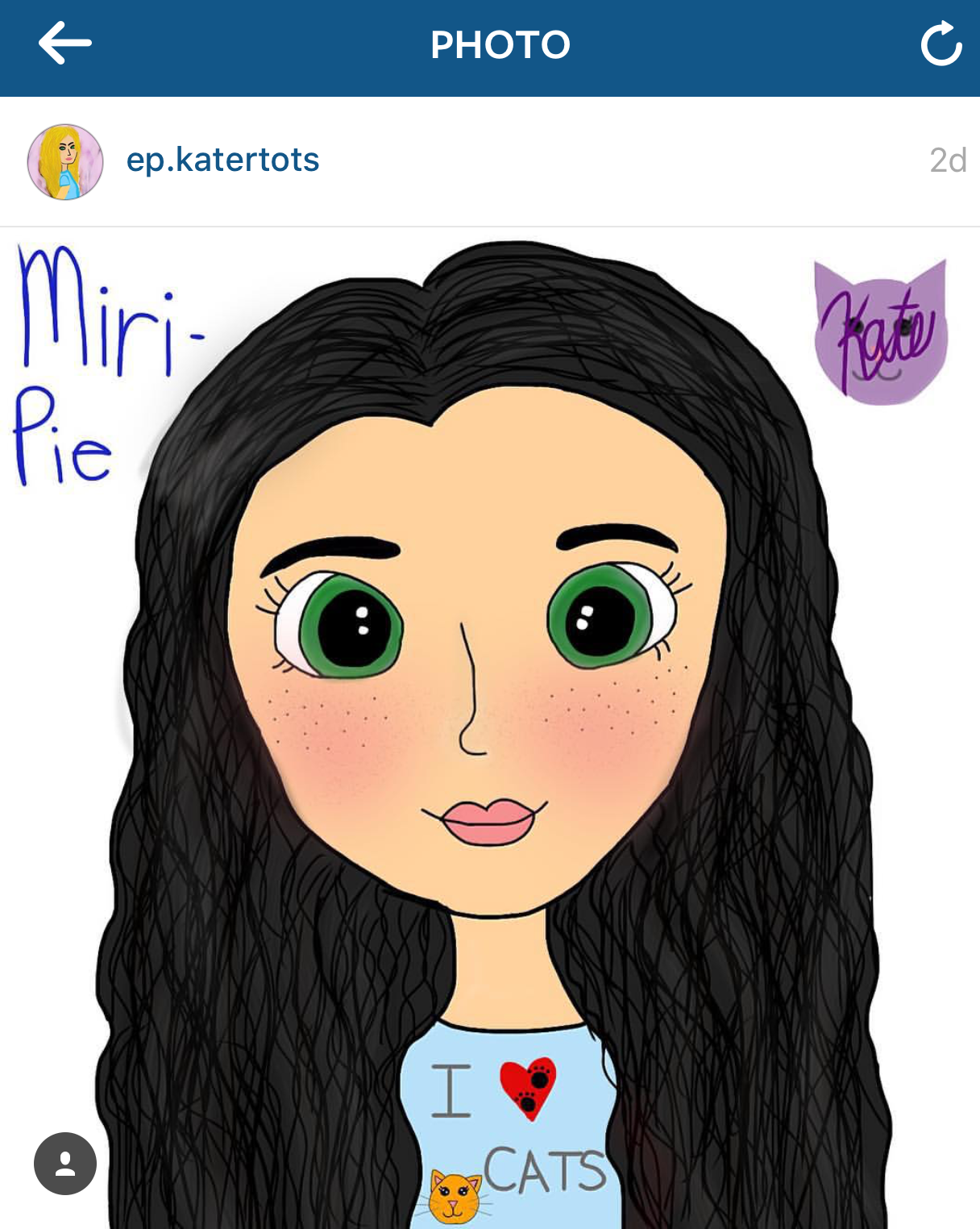 """Miri-Pie"" by @ep.katertots"