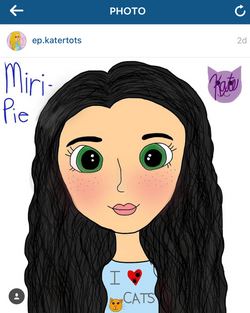 """Miri-Pie"" by @ep.katertots"