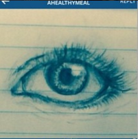 """Eye"" by @ahealthymeal"