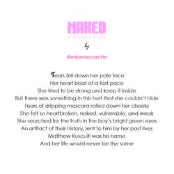 """Naked"" by @miss.mascarette"