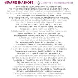 """""""#EMPRESSHASHOPE"""" © 2016"""