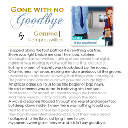 """""""Gone With No Goodbye"""" © 2016"""