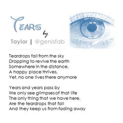 """""""Tears"""" © 2016"""