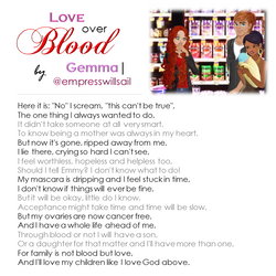 """""""Love Over Blood"""" © 2016"""