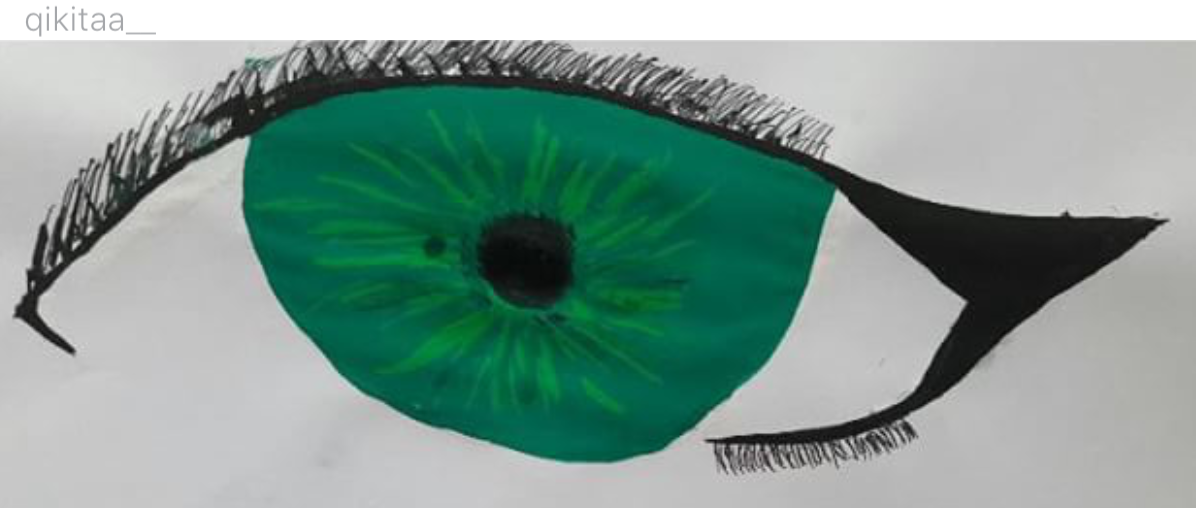 """Green Eyes"" by @qikitaa__"