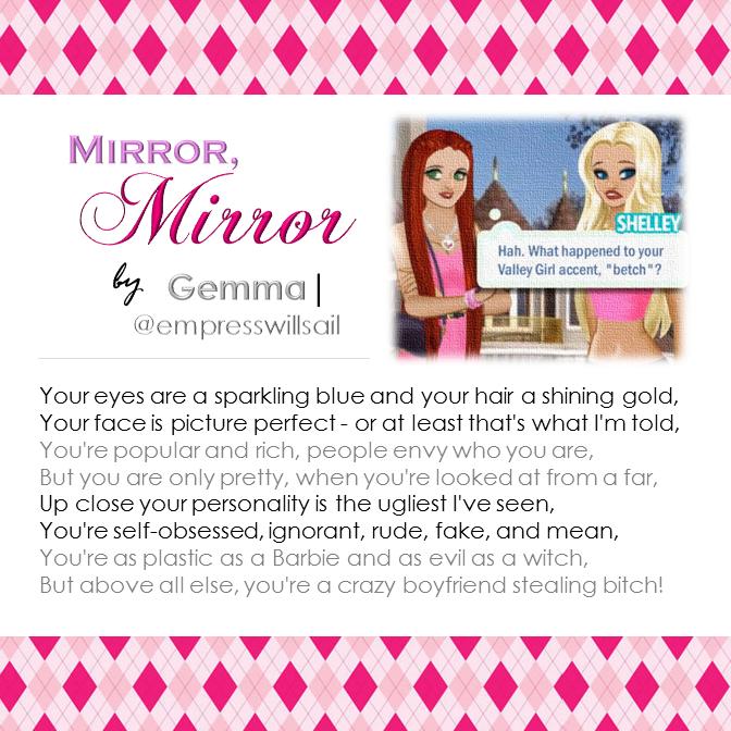 """Mirror, Mirror"" © 2016"