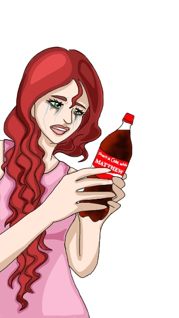 """Crying over Coke"" by @aj.episode"