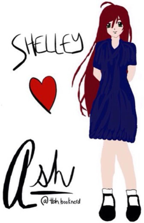 """Shelley"" by @tbh.booknerd"