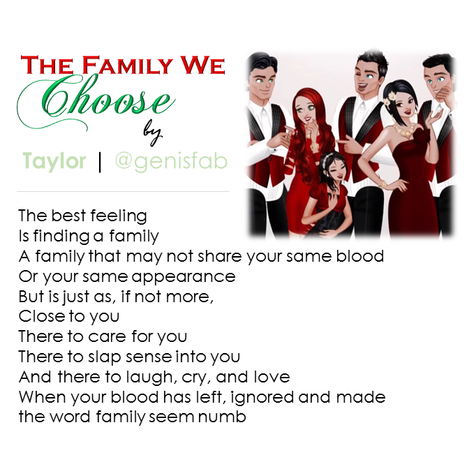 """The Family We Choose"" © 2015"