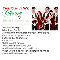 """""""The Family We Choose"""" © 2015"""
