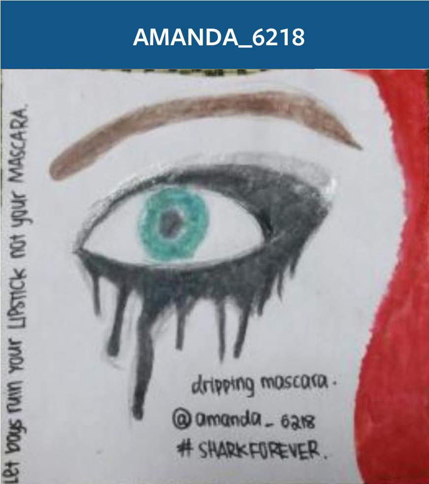 """Dripping Mascara"" by @amanda6218"