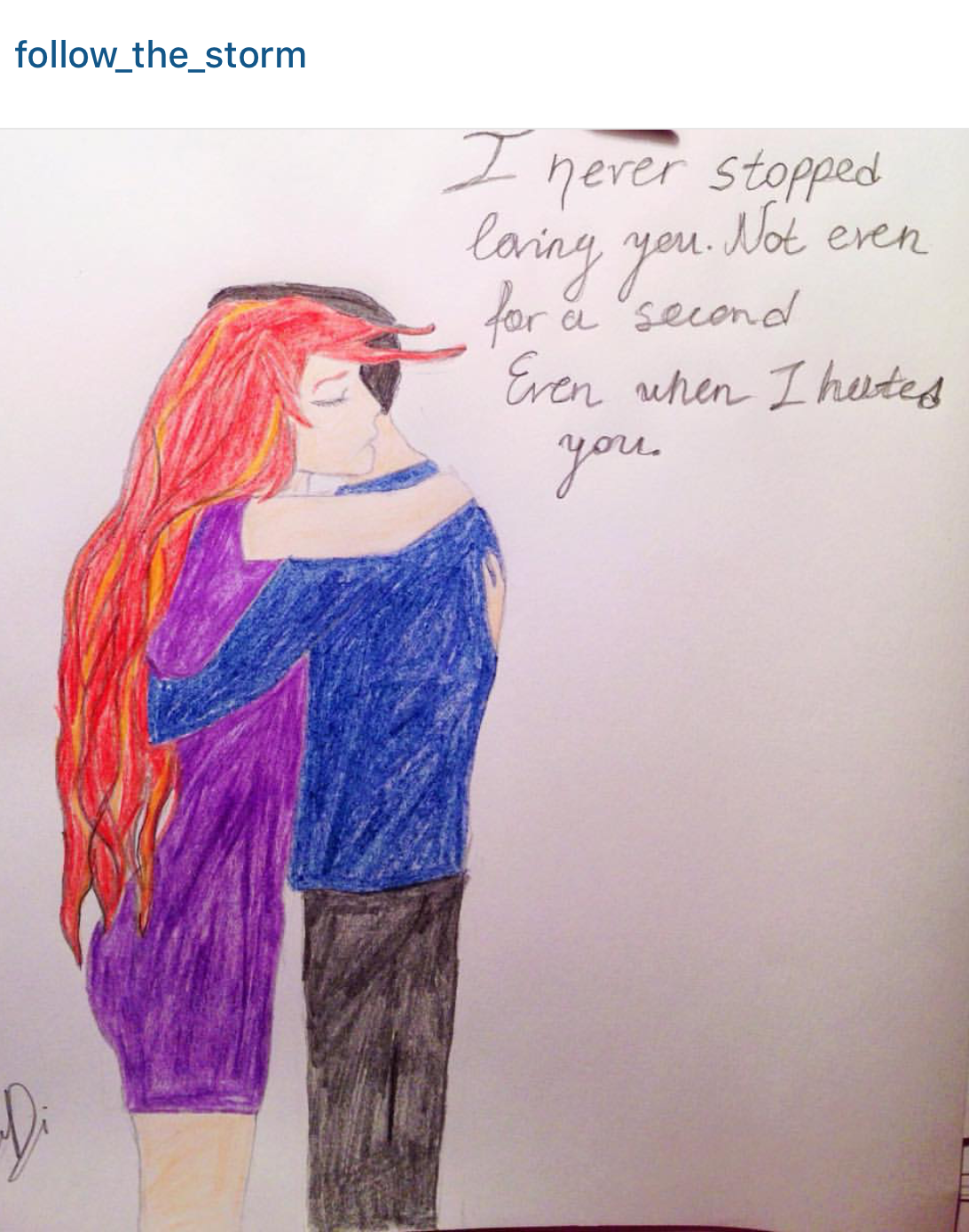 """""""Embrace"""" by @follow_the_storm"""