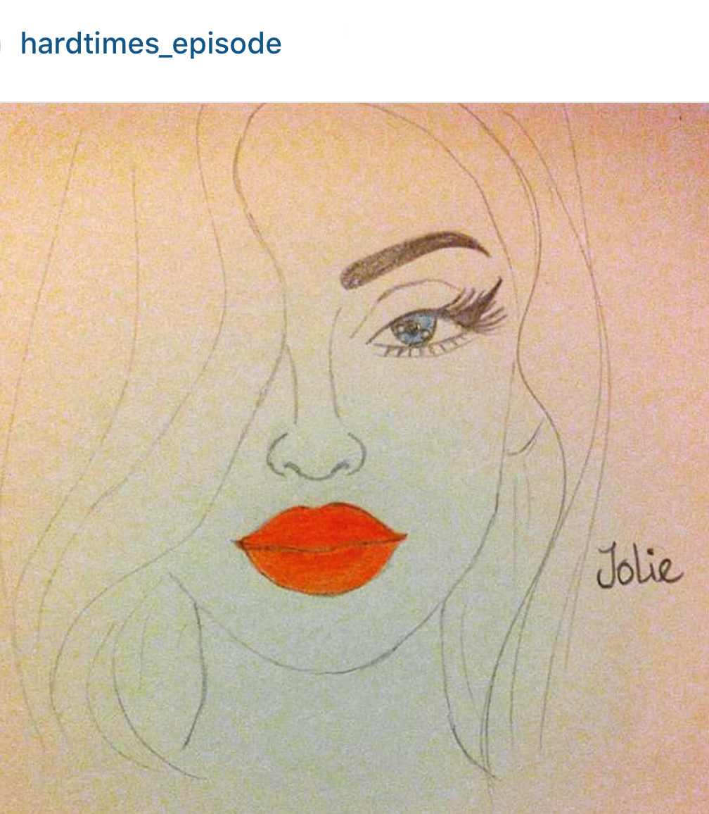 """Jolie"" by @hardtimes_episode"