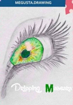 """Green Eyes"" by @megusta.drawing"