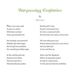 """""""Surpassing Centuries"""" by @kenquo"""