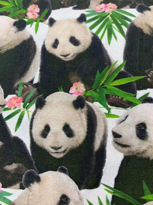 Pandas 100% cotton