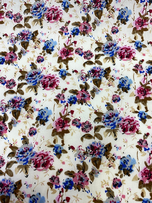 Roses Polycotton